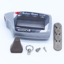 Бесплатная доставка Брелок Чехол Для двухстороннее автосигнализации Scher-Khan Magicar 5 Дело брелок Для M5 двухстороннее автомобиль дистанционного контроллер