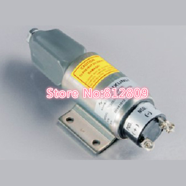 Diesel Stop Solenoid Valve For Diesel Engine 2003-12E7U1B1S2A 12V stop solenoid 1j710 60011 12v for engine v2607