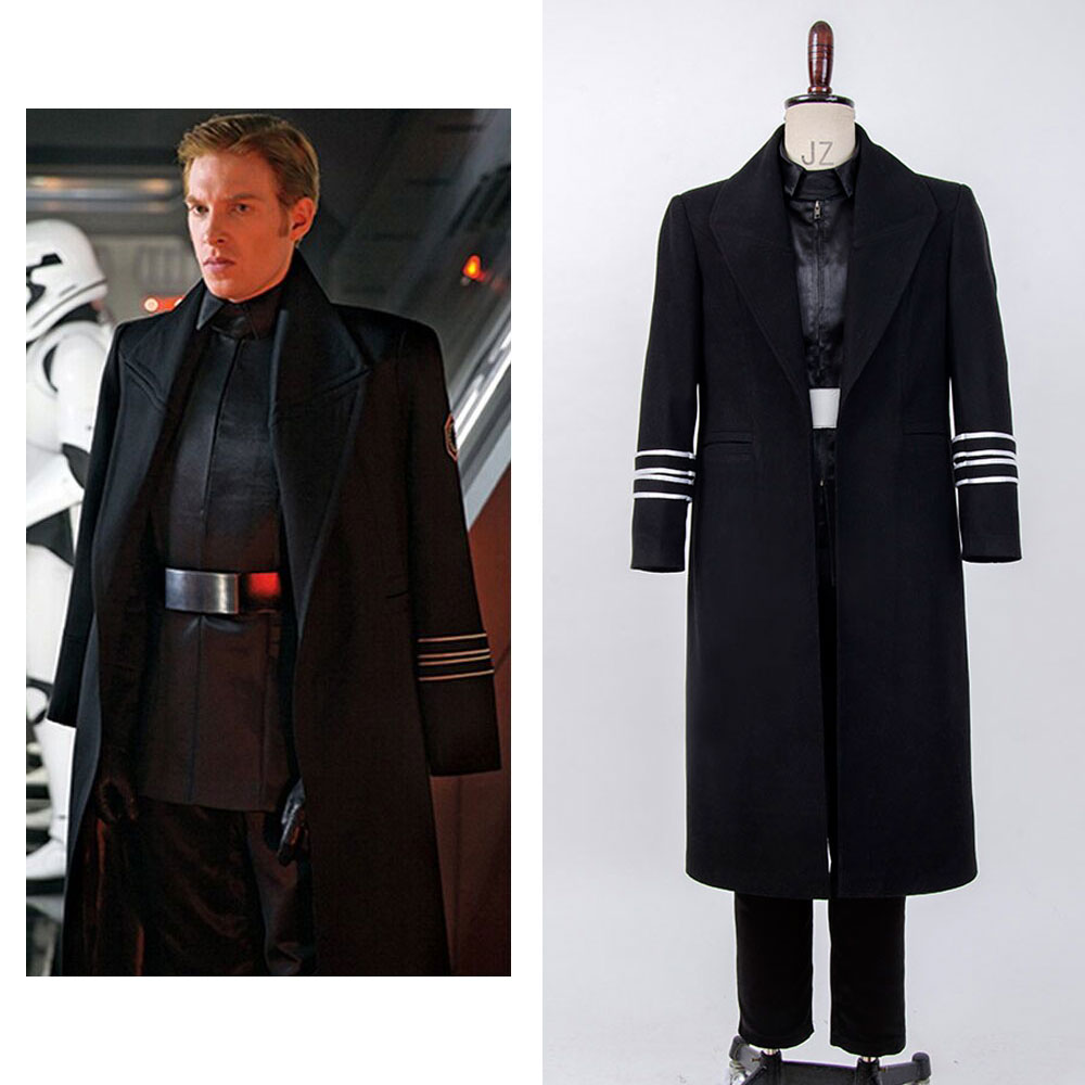 Star Wars VII: The Force Awakens General Hux Cosplay Costume Suit Full Set Halloween Cosplay Costume Full Set Men Women Outfit