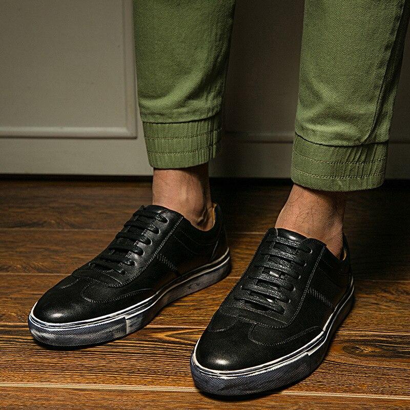 Botas Schoenen Nuevos Encaje Hombres Tendencia Moda Primavera Negro Marca Zapatos Mycoron Los Ocio Hombre Diseñador white Casual 2018 De La TCwv54q