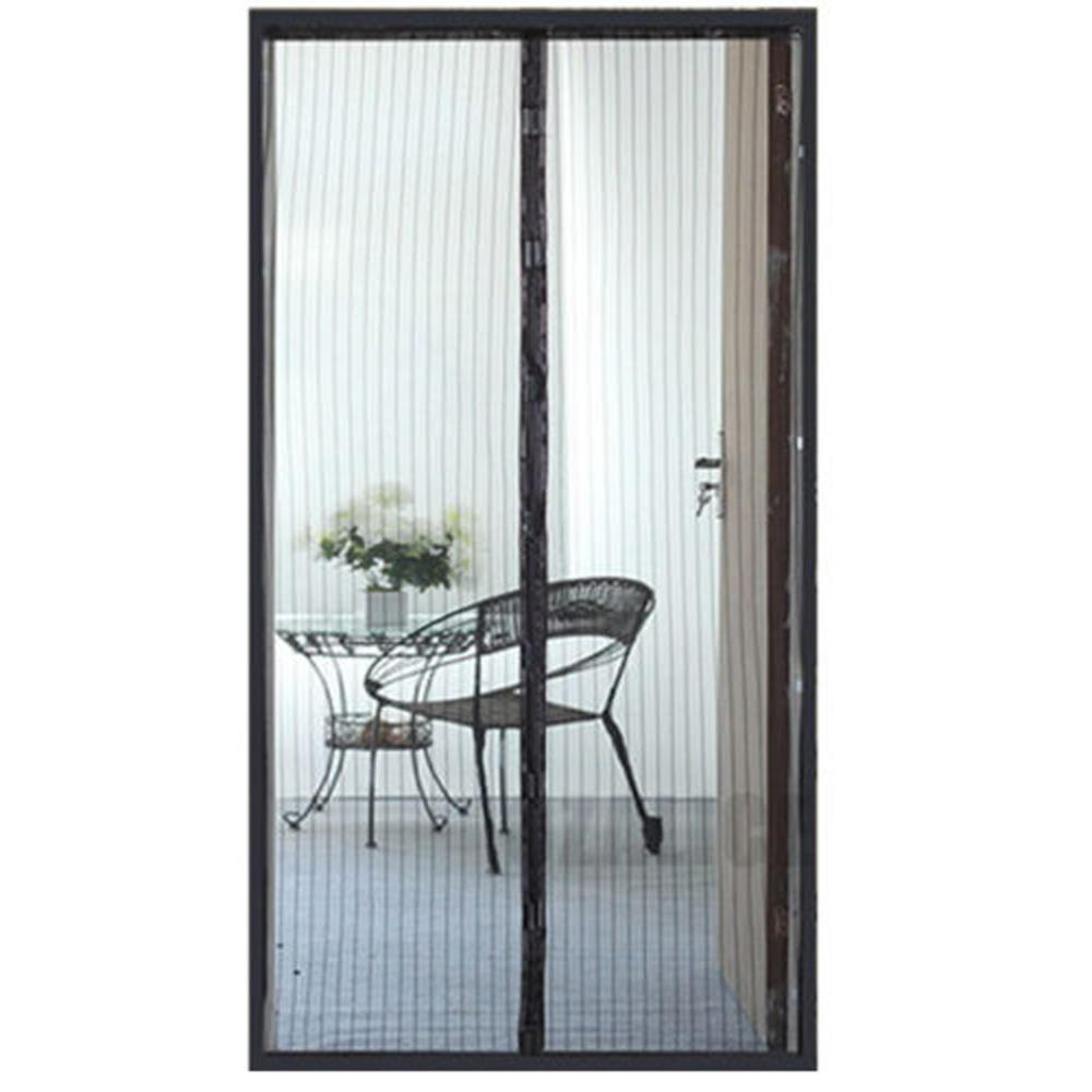 2.1*1m Hand Free Mosquito Net Door Magnetic Anti Mosquito Curtains Mosquito Screen Net Fly Bug Mesh Insect Netting Magnets