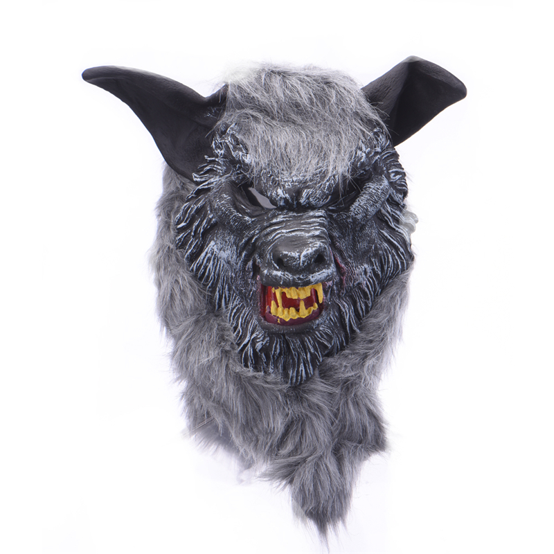 Halloween Masks Silicone Rubber Horror Devil Full Face