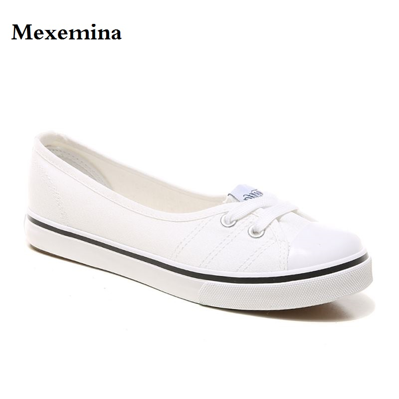 Mode Appartements Respirant Glissent Taille Ballerines Femmes 2018 Mexemina Chaussures blanc 35 Sur Casual Pu rouge Marine La Ciel 40 Toile Mocassins bleu wxYvOXOq
