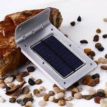 Novo 16 LED Solar Sensor De Movimento De Energia Solar Jardim Luz Da Lâmpada de Iluminação de Segurança Ao Ar Livre Luz Solar Levou Luz solar Ao Ar Livre