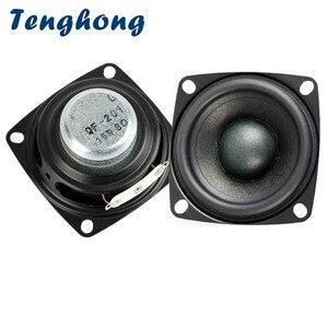 Image 1 - Tenghong 2pcs 2 Inch 4/8 אוהם 15W טרבל Mediant בס מלא טווח רמקולים סטריאו רמקול עבור קולנוע ביתי DIY