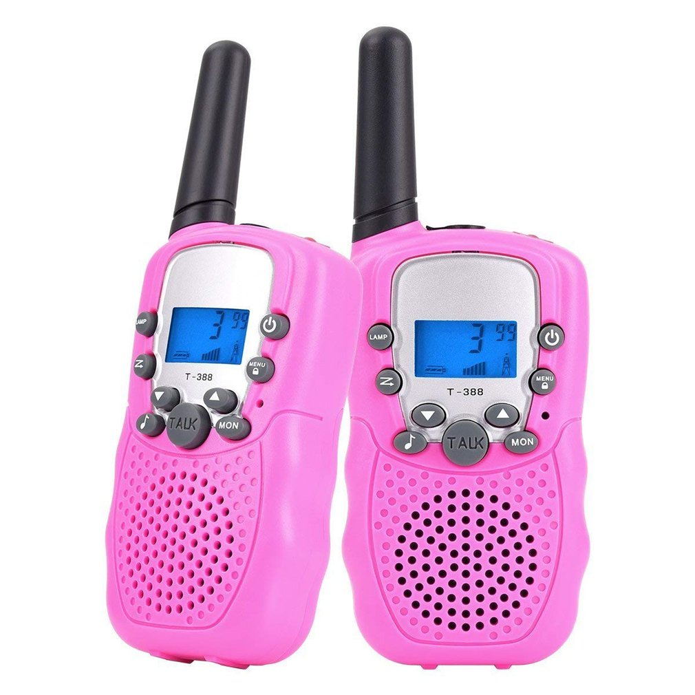 2pcs Mini Walkie Talkie Kids Radio Retevis T388 Kids Parents Gaming Interphone  Portable Two Way Radio Gift Talking Toys Outdoor