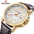 LONGBO Luxury Leather Strap Brand Watches Sports Men Waterproof Business Watch Top Quartz Male Watch Dress 80205