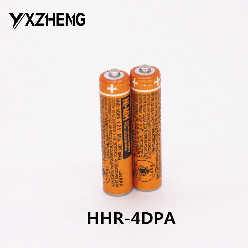Panasonic HHR-4DPA//2B Cordless Phone Battery Ni-MH 1.2 Volt Ultra Hi-Capacity 1000 mAh Replacement of Pack of 4 AAA Batteries