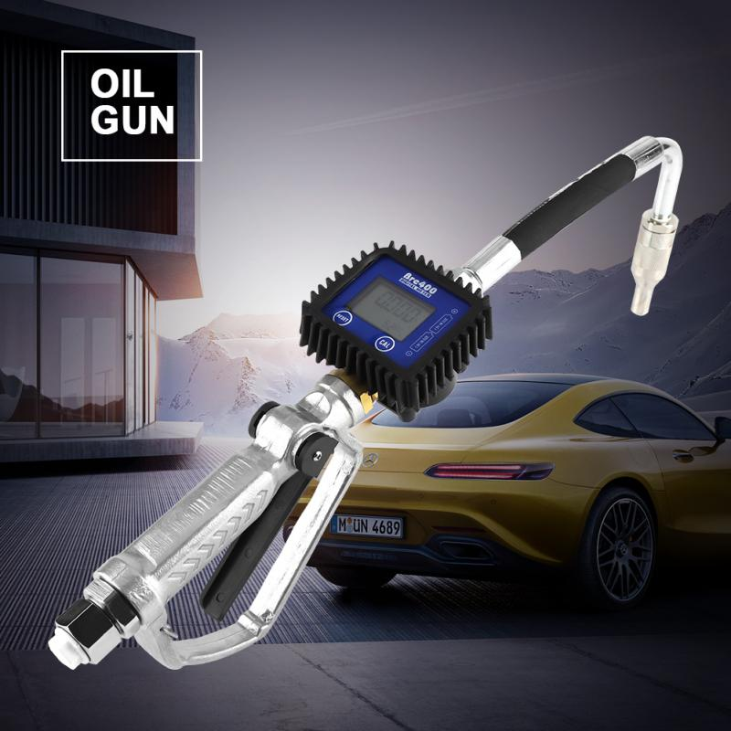 Digital Fuel Oil Lubricant Nozzle Gun Fueling Nozzle with Flow Meter
