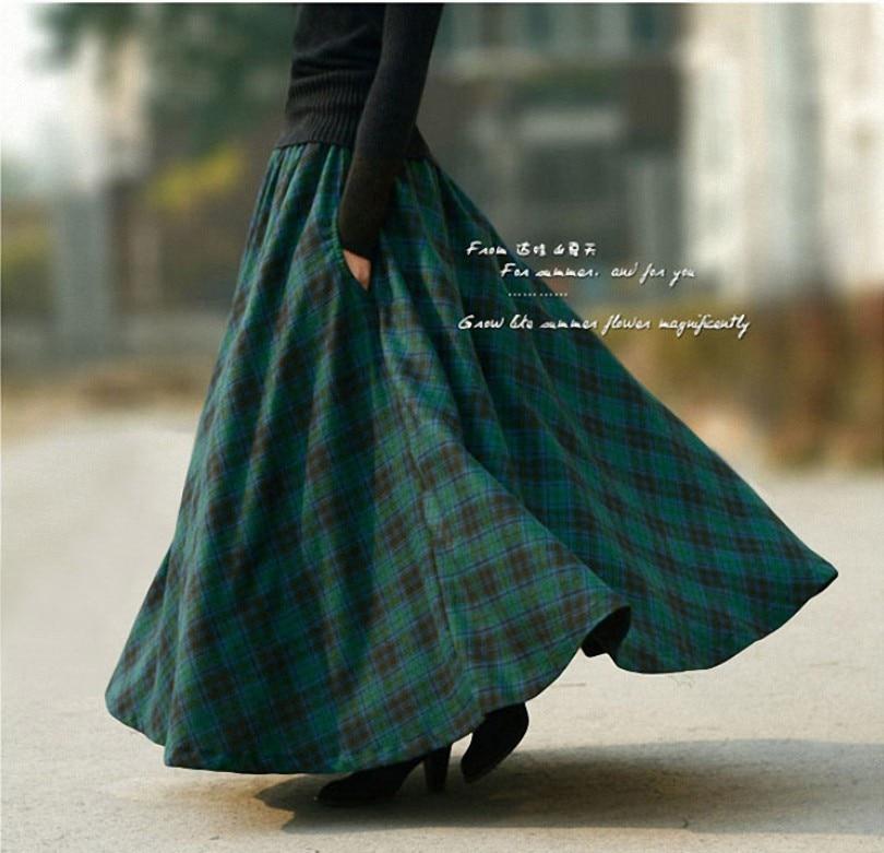 Aliexpress.com : Buy 2016 Autumn Winter women's long skirt with ...
