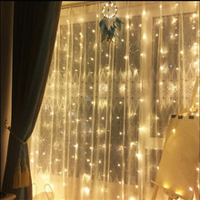 2M x 2M 180LEDS Home Garden Outdoor Holiday Christmas Decorative Wedding Event String Fairy Curtain Garlands Strip Party Lights ac220v 6x3m 600led home outdoor holiday christmas decorative wedding xmas string fairy curtain garlands strip party lights