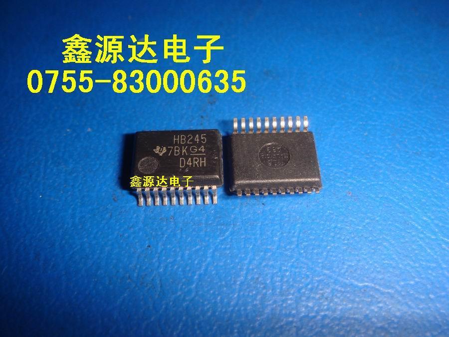 Shipping.100% SN74AHCT245PW Подлинная Бесплатная трафаретная печать с чипом HB245