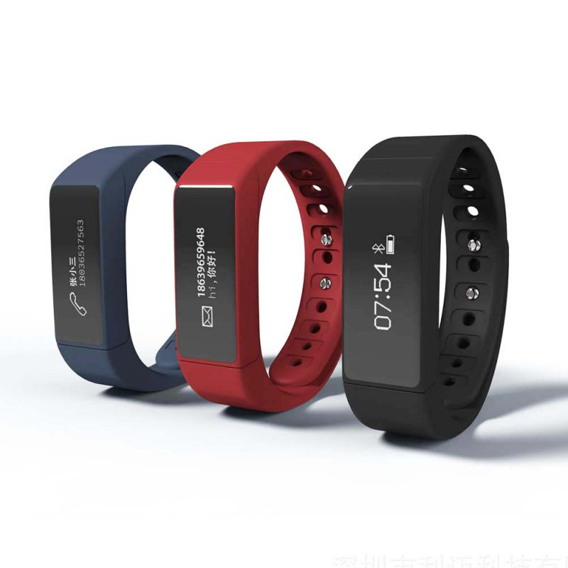 imágenes para I5 Más Inteligente Pulsera Bluetooth 4.0 Pantalla Táctil A Prueba de agua Gimnasio Rastreador Salud Sleep Monitor de Deportes Del Reloj Inteligente