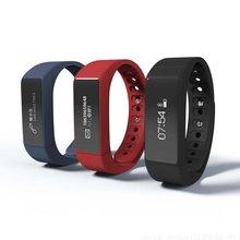 I5 más inteligente pulsera bluetooth 4.0 pantalla táctil a prueba de agua gimnasio rastreador salud sleep monitor de smart watch deportes