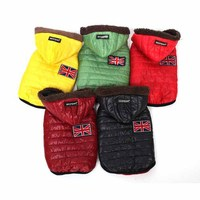 Autumn Winter Warm Dog Clothes For Small Dog Jacket Dog Coats Pet Puppy Cat Clothes Products