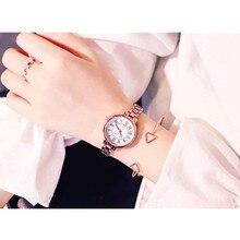 Cool and Simple Chic Style Retro Quartz Womens Watch Fine Band Bracelet Literary Wild Temperament Female