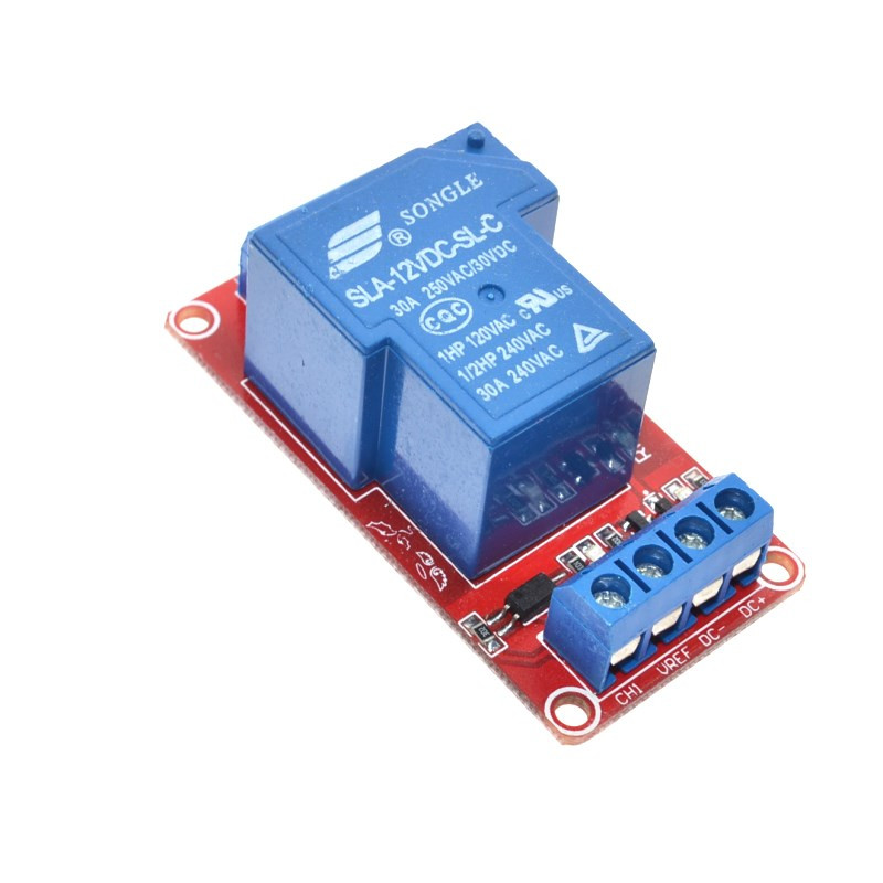 12V 30A 1-Channel Two-way Isolation Relay Module 7