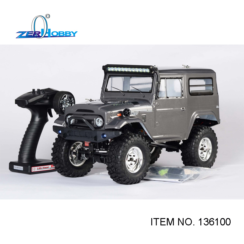 HSP Racing Rc Car 1/10 Scale Electric 4wd Off Road Rock Crawler Cruiser RC-4 Climbing High Speed Hobby Remote Control Car 136100 02023 clutch bell double gears 19t 24t for rc hsp 1 10th 4wd on road off road car truck silver