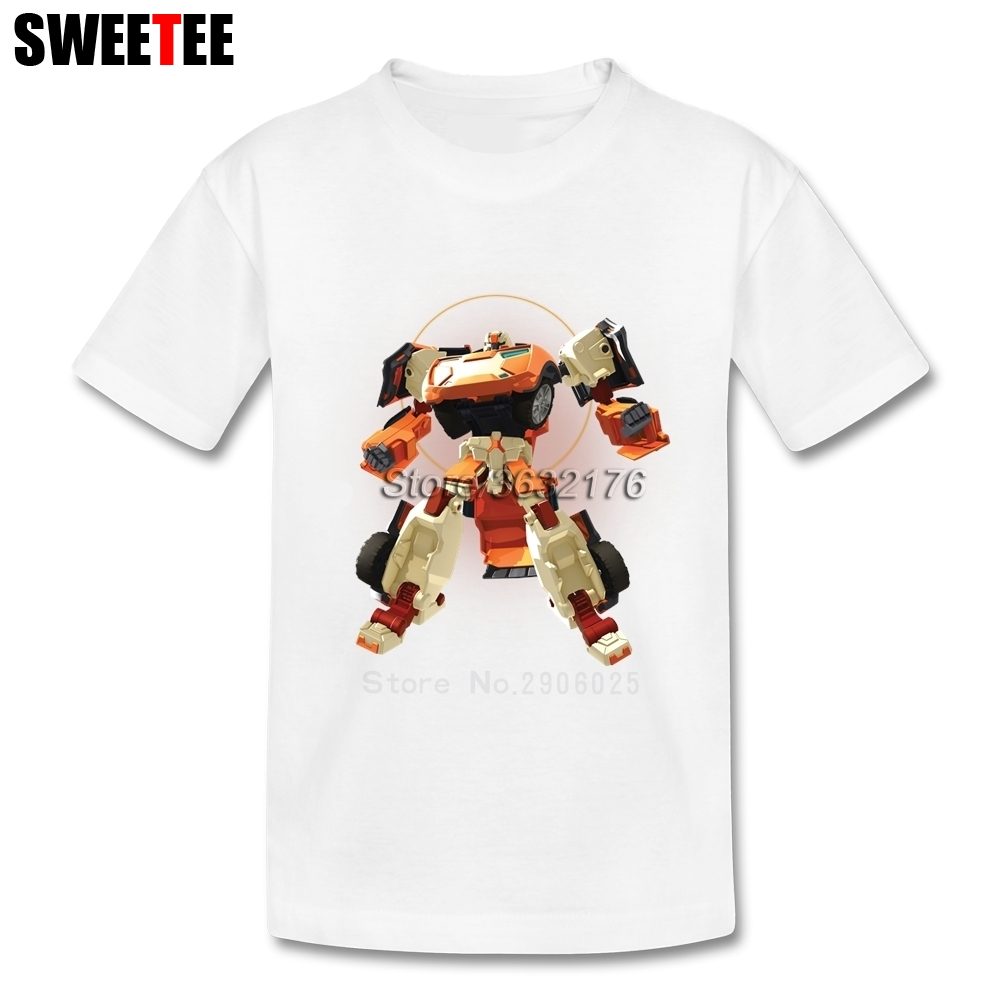 Tobot childrens T Shirt Kid Cotton Infant O Neck Short Sleeve Tshirt Tee Shirt Boy Girl Toddler 2018 New Tops T-shirt For Baby
