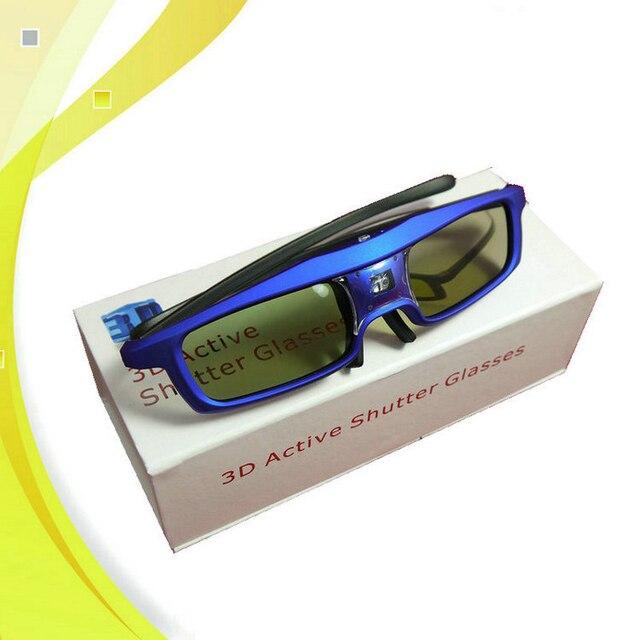 Бесплатная Доставка Хорошее Качество 120 Гц Цифровой DLP 3d-очки Совместимы Для HD 3D Z4 X3S Проектор Затворные Очки