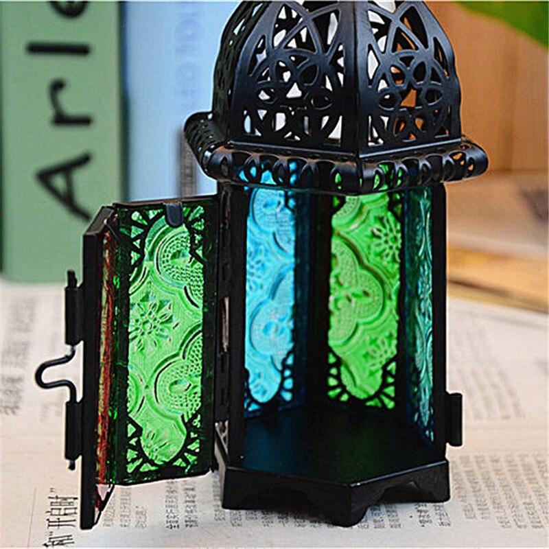 Винтажды металл шұңқырлы шам ұстағыш - Үйдің декоры - фото 4