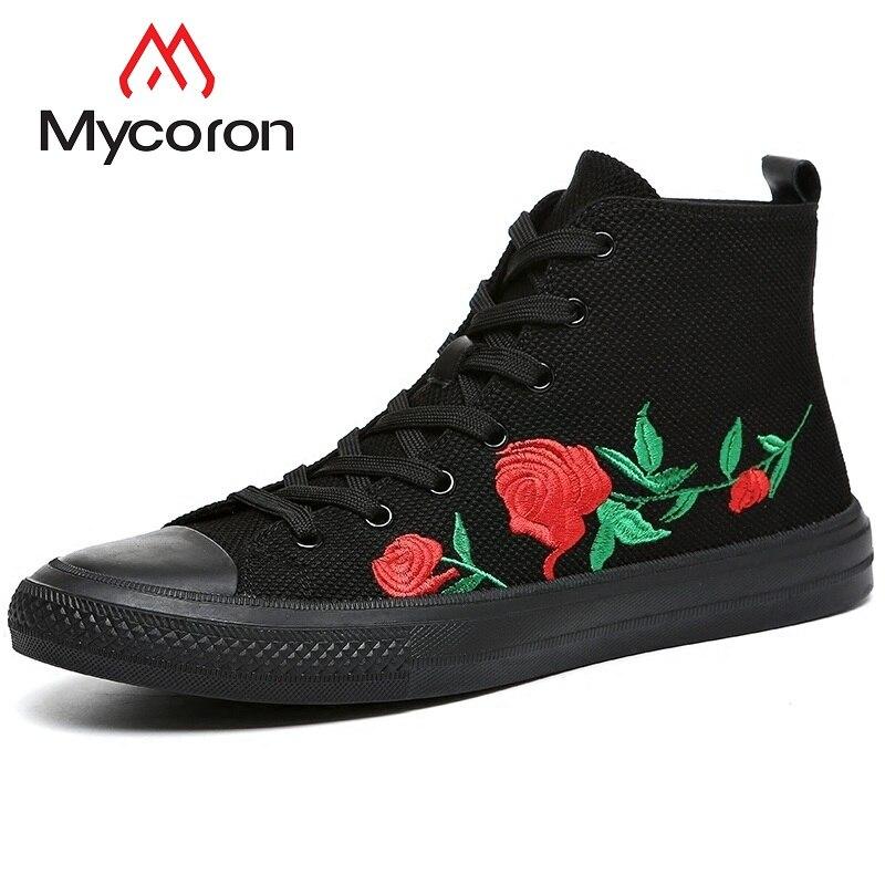 Mycoron Preto Botas Top Homens Dos High Hombre Alta Da Sapatos Tornozelo 2018 De Das Casuais Marca Luxo Designer Sapatilhas r4UwrxAq