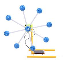 New Fashion ABS Plastic Solar Ferris Wheel Physics Experiment Creative Toys Outdoor Educational Science Toys