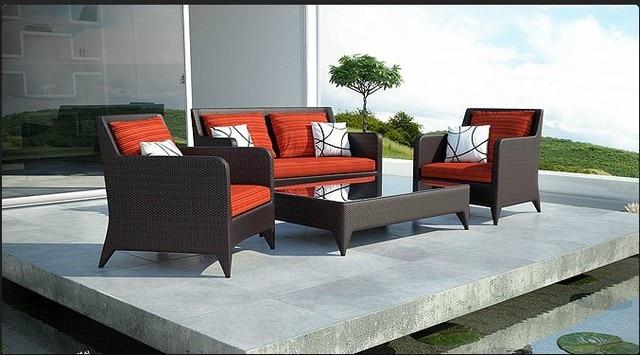 2017 Hot Summer Arrival Resin Wicker Turkish Fancy Sofa Outdoor Garden Furniture