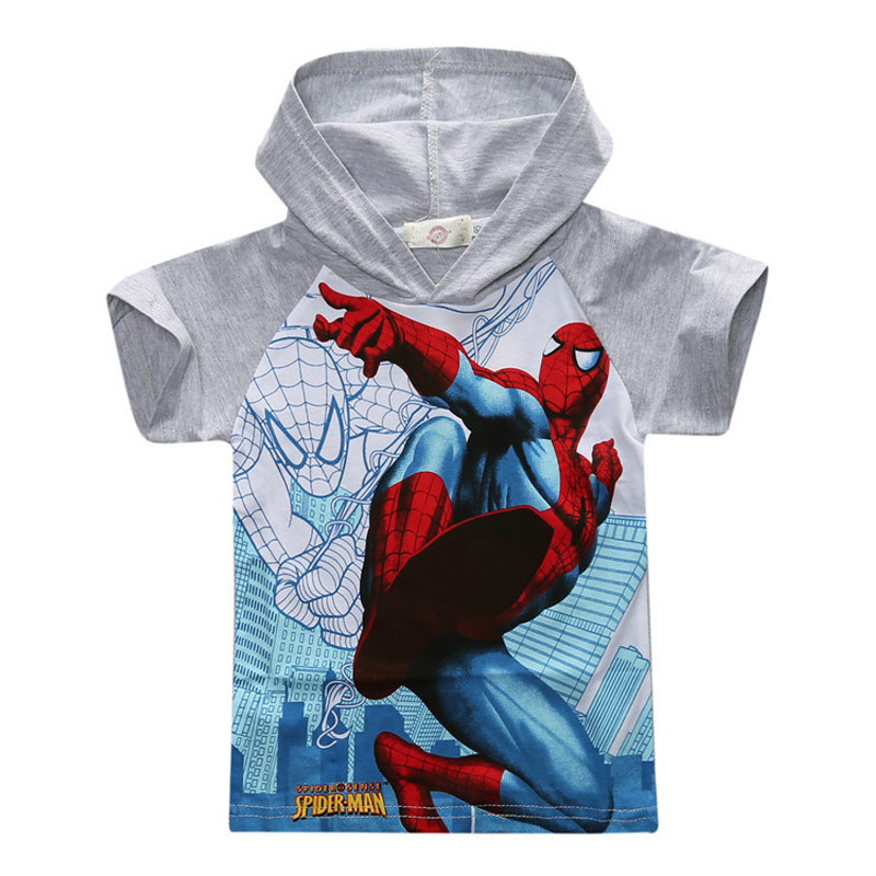 2016-New-Spiderman-Boys-T-shirt-Childrens-Cartoon-Fashion-Hooded-Super-Hero-T-Shirt-Summer-Cotton-Casual-Kids-Short-Tshirt-22-2