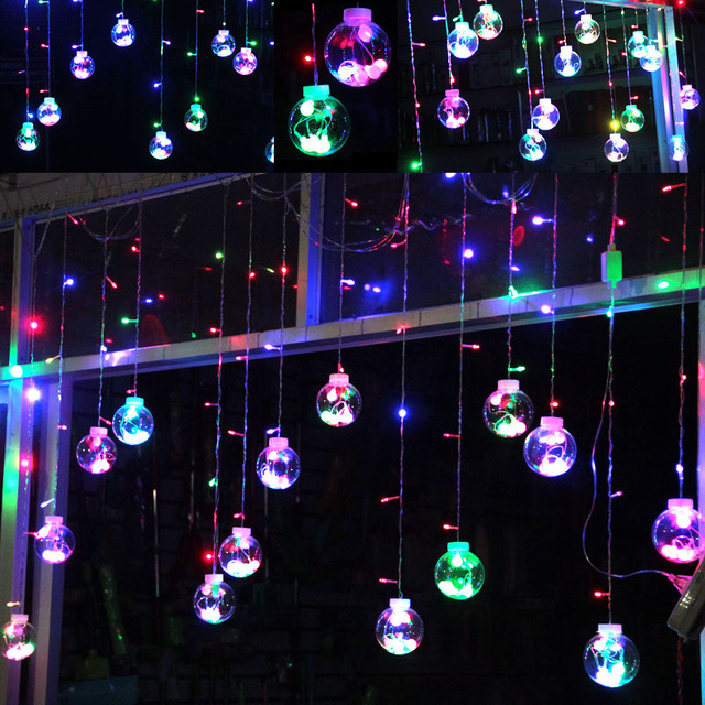 globe fairy string bulb lights for indoor outdoor wedding christmas xmas thanksgiving party events home roof - Christmas Globe Lights