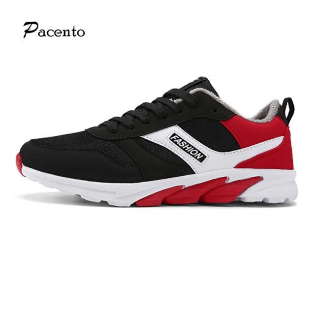 cheap for discount e4bb0 ef0d9 US $47.04 |Pacento 2016 scarpe moda casual da uomo krasovki calzature  stivali di piedipiatti piatto inverno calzature scarpe 2016 sport maschio  raf ...