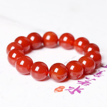 Fashion Natural Red Onyx Stone Bracelets & Bangle for Women and Men
