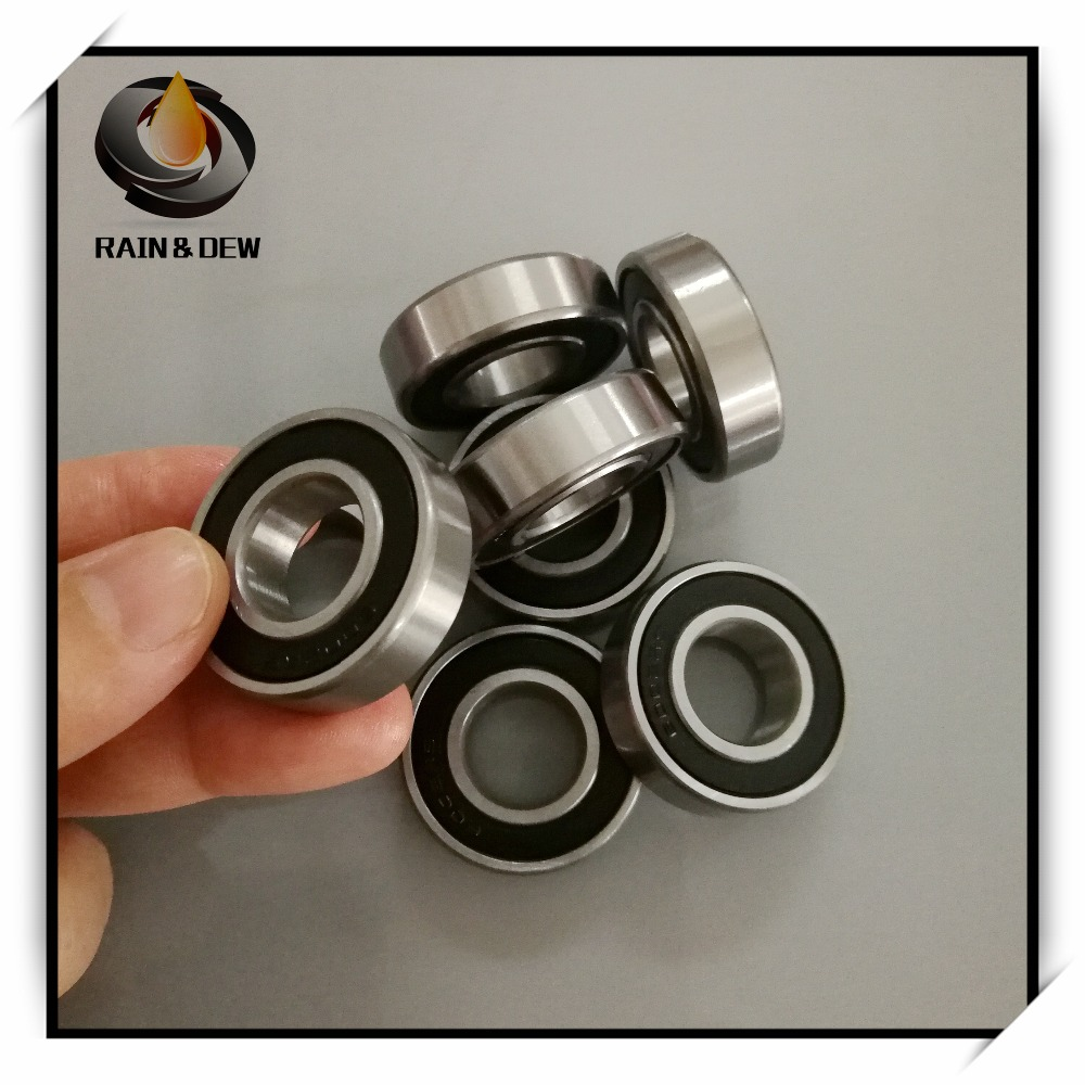6901RS QTY 5 6901-2RS HYBRID CERAMIC Si3N4 Ball Bearing 12x24x6 mm Black