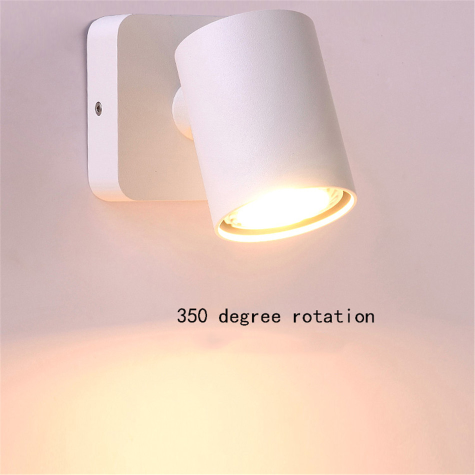Modern Wall Lamp Loft Style Corridor Living Room Wall Light Swing Arm Bathroom Mirror Light Dining Room Cafe Reading Wandlamp in LED Indoor Wall Lamps from Lights Lighting