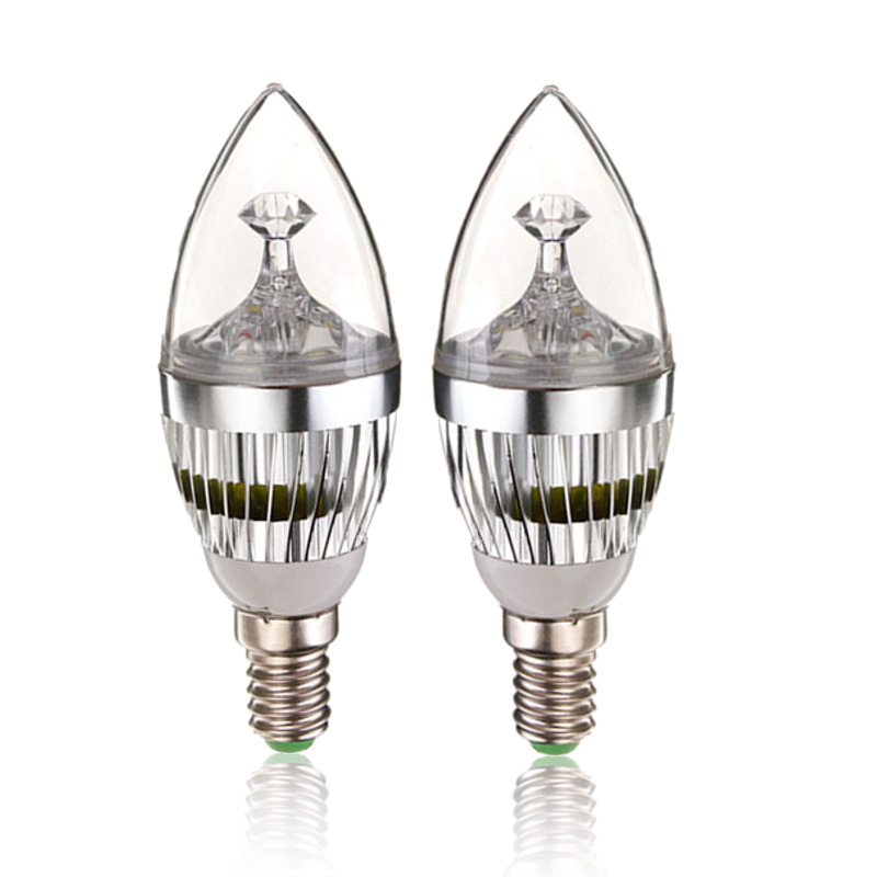 led candle light bulb e14 dimmable 9w led candelabra bulb spot light chandelier lamp cold warm