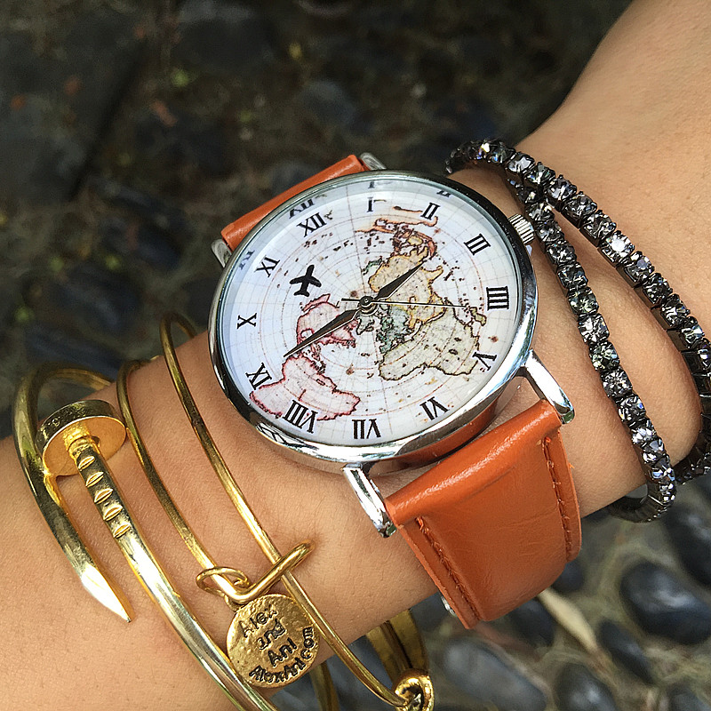 2016 ebay new world map leather watcheurope british style male 2016 ebay new world map leather watcheurope british style male and female students map and plane watch vintage map watch in lovers watches from watches on gumiabroncs Gallery