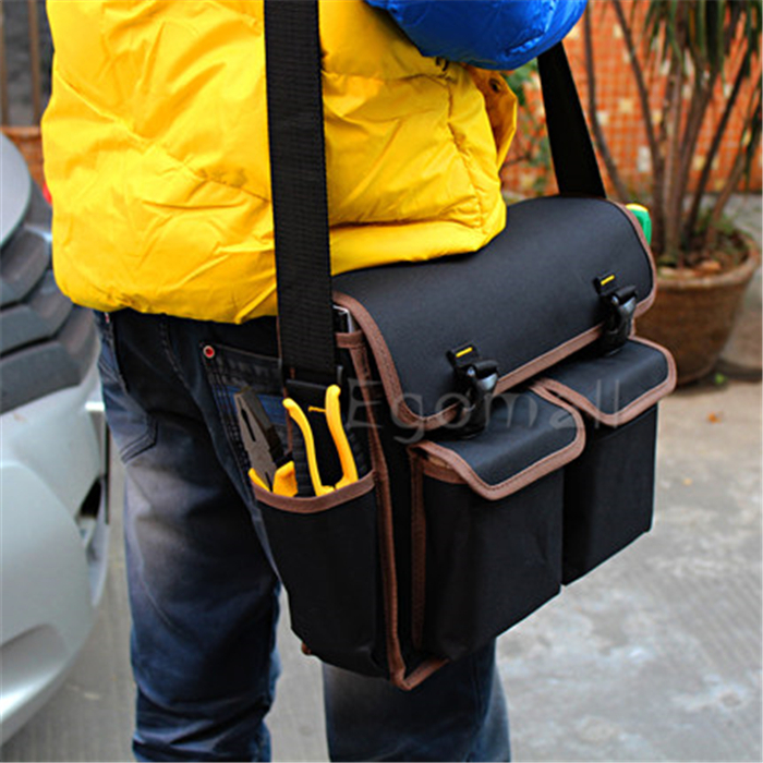 Multifunction Sears Tool Case 600 D Polyester Material 13 Bag Electrician Canvas D407 In Bags From Tools On Aliexpress Alibaba Group
