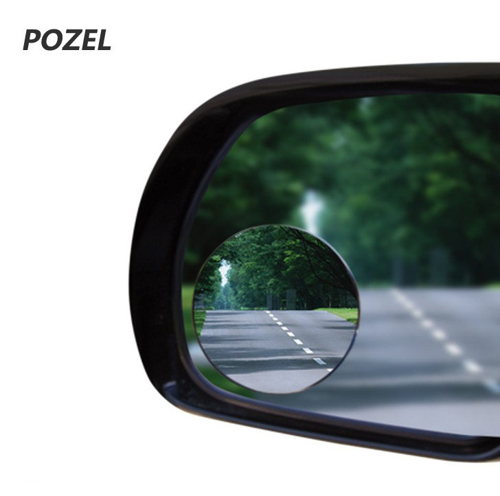 Passenger side Clip heated Convex wing mirror glass for Mazda 2 02-07