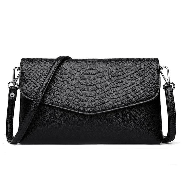 3562b4af9460 PU Leather Women Clutch Bag Snake Pattern Design Wallets Fashion shoulder  bags Female Casual Fashion High Quality Crossbody Bags
