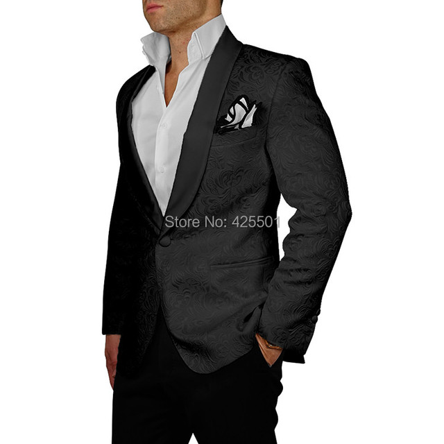 Latest Coat Pant Designs Wedding Groom Men Suit Slim Fit For Men ...