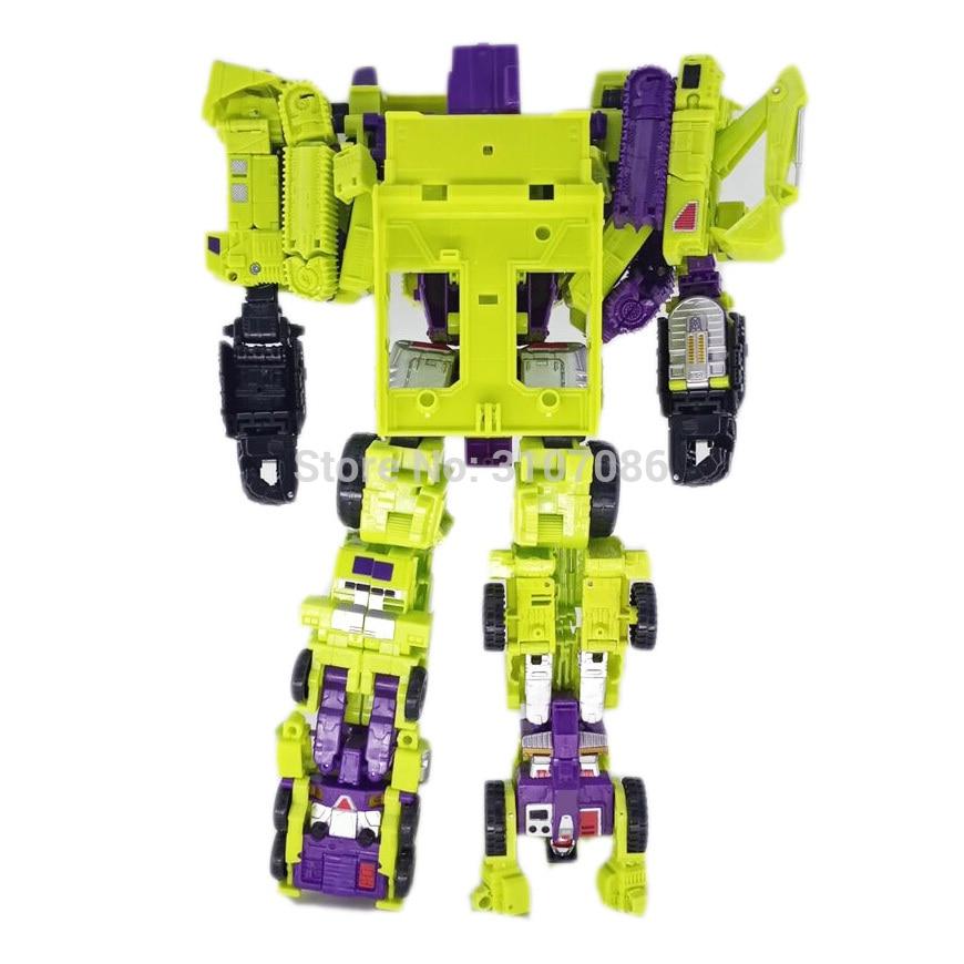 HZX transformacji Devastator G1 IDW 6IN1 Oversize figurka zabawkowe roboty z Retail Box w Figurki i postaci od Zabawki i hobby na  Grupa 3