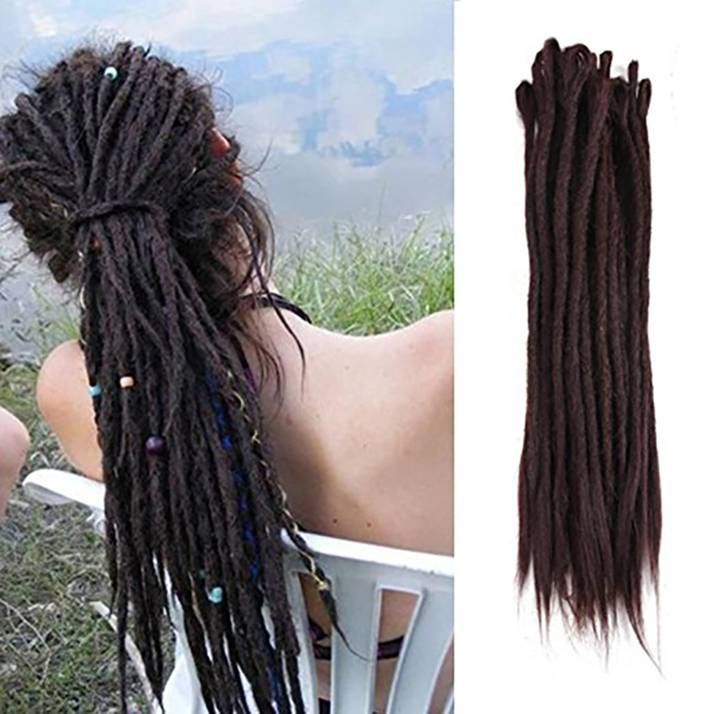 Hair Braids 24 Inch 1-10pcs/lot Crochet Hair Dreadlocks Braids Crochet Locs Synthetic Crochet Braid Hair For Women Demand Exceeding Supply