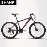 SHANP Горный велосипед bike bicycle АЛЮМИНИЕВАЯ рама 21/24 Скорости Shimano 26 27,5 29 колеса MTB Mountain Bike