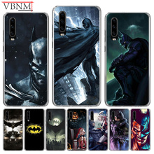 Batman DC Patterned Special Silicone TPU back Case For Huawei Mate 10 20 Pro Lite 20X S RS Y6 Y7 Y9 2019 Gift Customized Cover