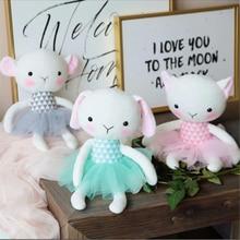 Cute Cartoon Small Rabbit Cat Sheep Plush Toy Stuffed Animal Doll Toys Comforting Children Girls Gift