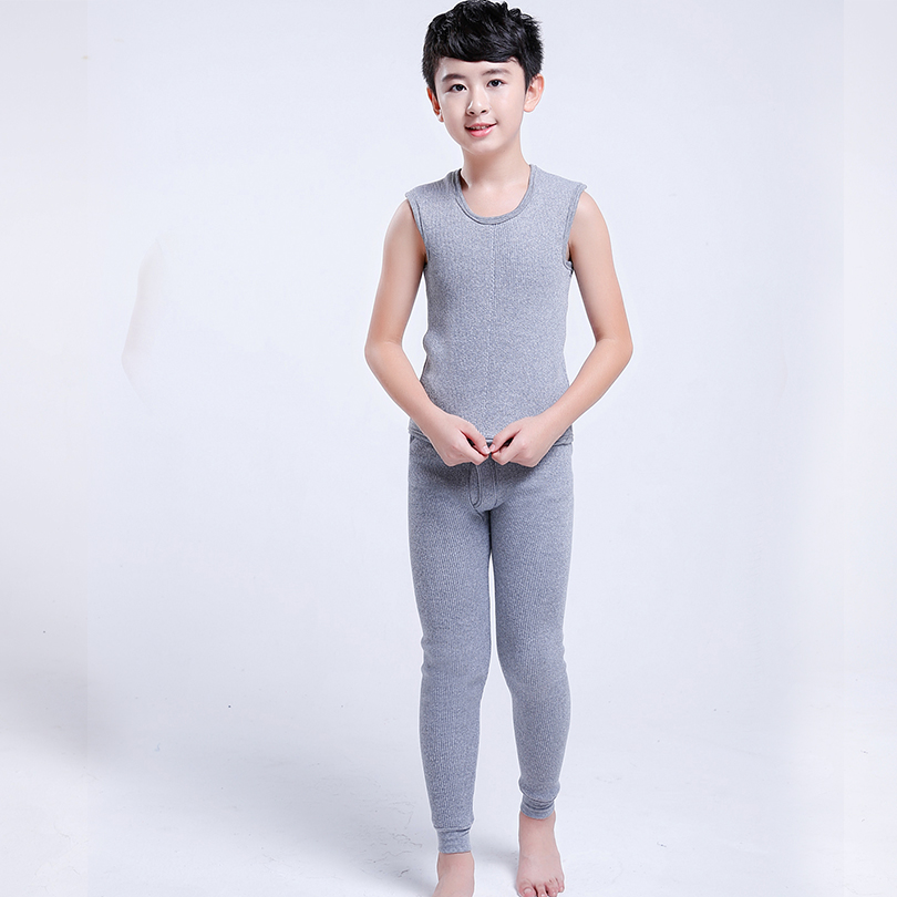 High Quality Cotton boy Thermal Underwear Winter Long Johns Brand ...
