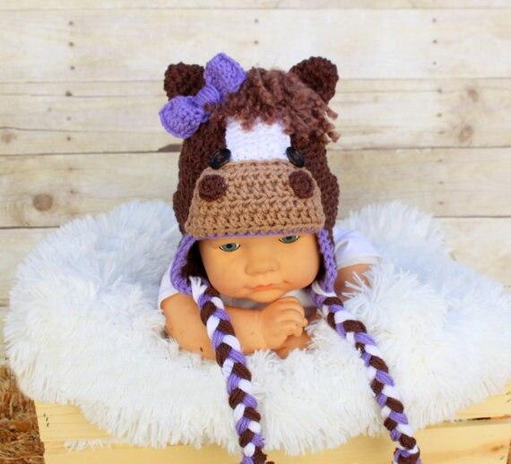 Jetzt Angebot Verkauf Kleinkind Crochet Viking Hut Mit Bart Häkeln
