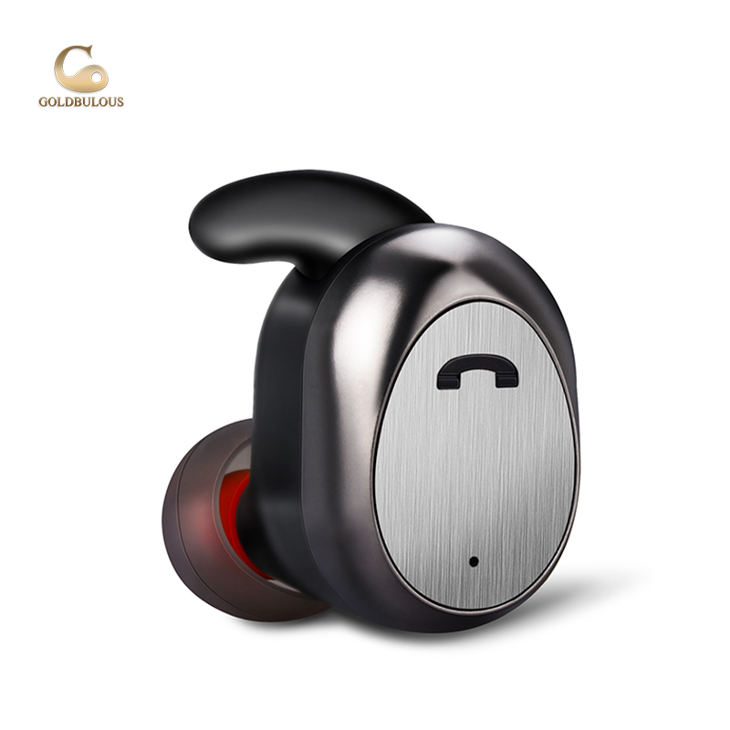 GBD11 TMS Bluetooth Earphones Sport Wireless IPX7 Waterproof Earbuds Super Light Mini Stereo Bass Headset for iphoneX Android