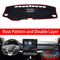 Rose Pattern For BYD SONG DM 2019 Dashboard Cover Car Stickers Car Decoration Car Accessories Interior Car Decals