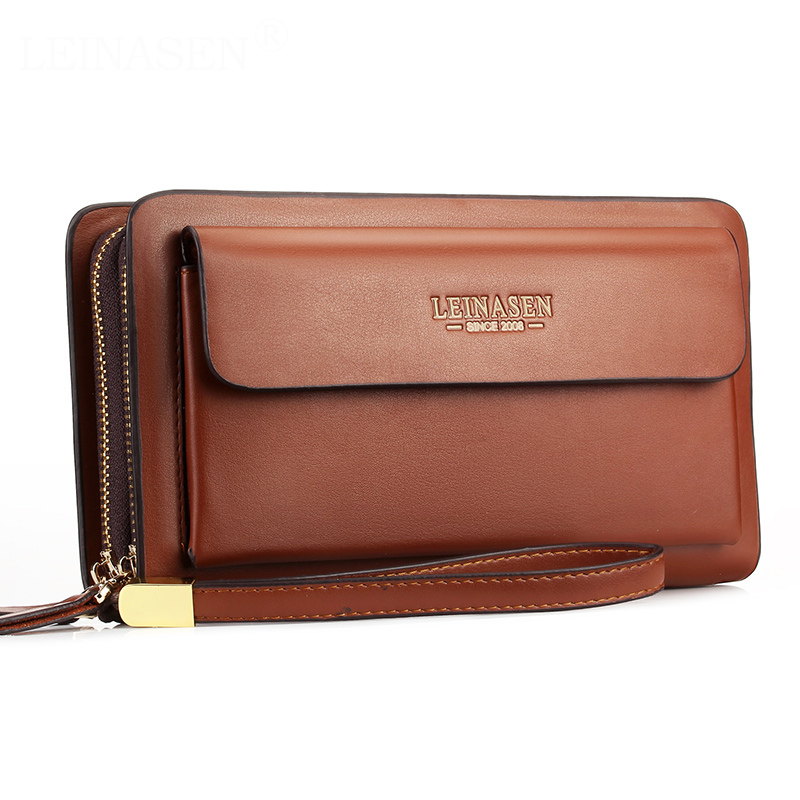 High Quality PU Leather Men Wallet 2019 New Casual Wallet Men Purse Clutch Bag Wallet Long Design Handbag Large Capacity For Man